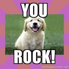 You Rock Meme - pictures images graphics comments