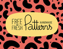 7 free fresh handmade patterns in vector on behance