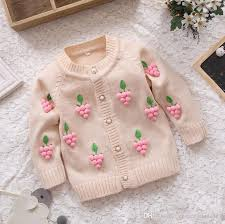 knit sweater baby grape sweater autumn winter
