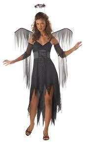 wicked angel dark gothic evil fallen wings teen costume