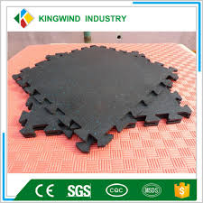 Flooring Rubber Tiles 15mm Commercial Gym Rubber Tiles Indoor Shooting Range Rubber