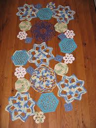 Crochet Table Runner Pattern Ravelry Crochet Shapes Table Runner Pattern By Lion Brand Yarn