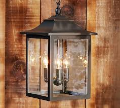 classic indoor outdoor pendant pottery barn