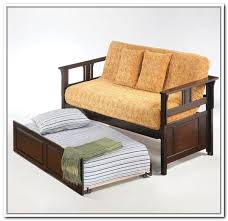 Futon With Storage Drawers Futon Couch With Storage Home Design Ideas