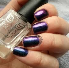 grace full nail polish u2014 laketown u2013 multichrome cyan blue purple