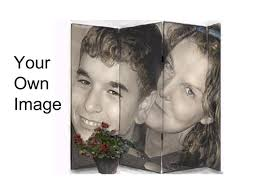 custom image on a room divider folding screen now available cool