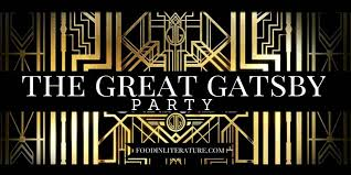 literature themes in the 1920s the great gatsby party and menu food in literature treasure