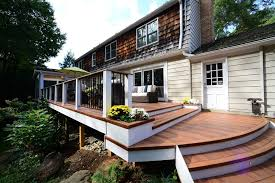 Deck In The Backyard Official Blog Of Design Builders Inc A Licensed Bonded And