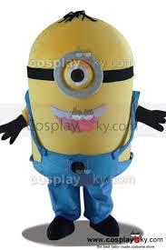 Minion Halloween Costume Despicable Minions Stuart Mascot Costume Size 3