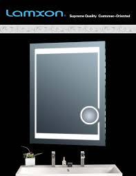 bathroom light illuminated bathroom mirrors battery powered
