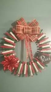 36 best clothes pin wreath images on pinterest clothes pin