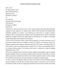 11 termination letter templates free sample example format