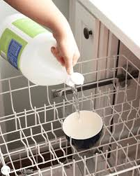 What To Clean A Bathtub With How To Clean Your Dishwasher In 3 Easy Steps One Good Thing By