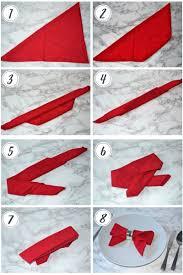 how to make table napkins furniture table napkins folding napkin steps video procedures