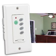 westinghouse 7787500 wireless ceiling fan and light wall control