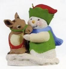 hallmark snow buddies ebay