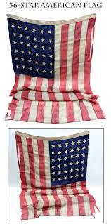 Us Flag 1860 Civil War Antiques Dave Taylor U0027s February 2015 Webcatalog 1
