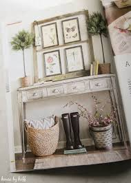 my tips for creating spring vignettes in american farmhouse style