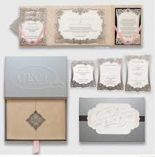 luxury wedding invitations by ceci new york our muse laser cut
