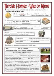 55 free esl houses worksheets