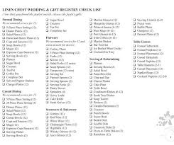 the wedding registry wedding registry items this wedding registry checklist from