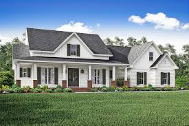 farmington house plan curb appeal porch and wraps