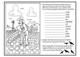 free printable adjectives worksheets worksheets for grade 1 free number names worksheets