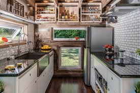 Tiny House Kitchens by Alpha A Luxurious Tiny House By New Frontier Tiny Homes