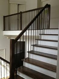 Banister Stair Staircase Design Inspiration Pictures And Remodels Wrought Iron
