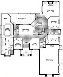Hangar Home Floor Plans Mediterranean House Plan 190 1020 4 Bedrm 2409 Sq Ft Home