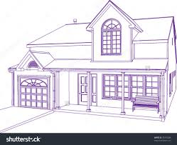 download house blueprint vector adhome amazing idea 11 house blueprint vector proprietary style illustration stock on home