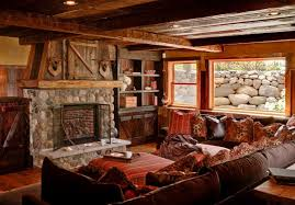 rustic livingroom furniture 15 homey rustic living room designs home design lover