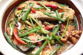 recette de cuisine poisson poisson mijoté à la vietnamienne cá kho tộ la kitchenette de