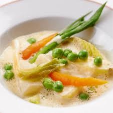 cuisiner haddock blanquette légumière au haddock fumé recette du chef alain passard