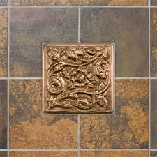 kitchen backsplash metal medallions tile medallions for kitchen backsplash zyouhoukan net