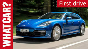porsche panamera blue porsche panamera sport turismo review 2017 what car