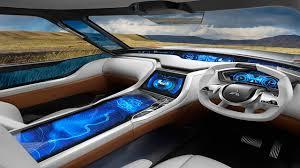 futuristic cars interior bmw s futuristic new concept car interior uses holograms youtube