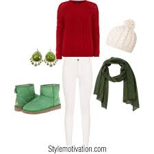 White Christmas Outfit Ideas by Musely