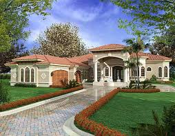 one story mediterranean house plans plan 32127aa spaces story house architects