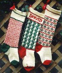knitting pattern for christmas stocking free vintage personalized christmas stocking knitted pattern