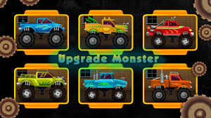 free online monster truck racing games monster ride hd free games android apps on google play