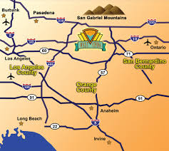 west covina ca map great location city of west covina