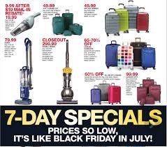 black friday luggage macy u0027s black friday in july ad 7 11 17 7 17 17
