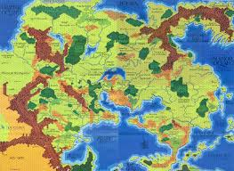 Forgotten Realms Map The Setting To End All Settings Fantasy Map Review Ii Greyhawk