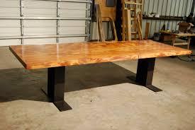 Natural Solid Wood Furniture Custom Wood Plank Desk Best Home Furniture Decoration