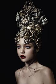 pearl headpiece gold pearl headpiece by agnieszkaosipa on deviantart