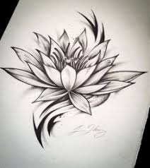 realistic lotus flower tattoo image photos pictures and