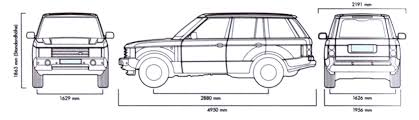 land rover drawing tutorials3d com blueprints land rover range rover