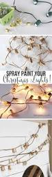 spray paint your christmas lights 12 diy holiday decorations you