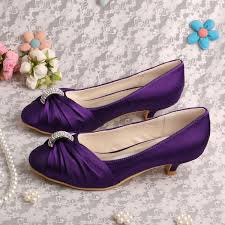 wedding shoes purple wedopus mw933 women pumps wedding shoes purple low heeled